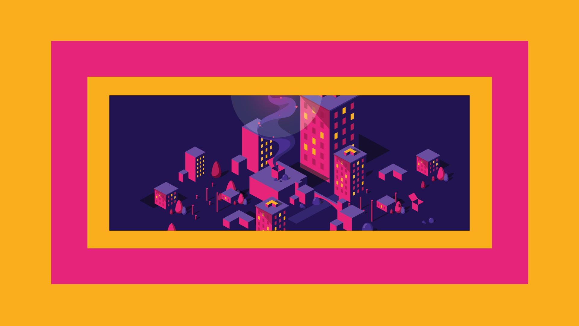 Housing_City on yellow BG-01