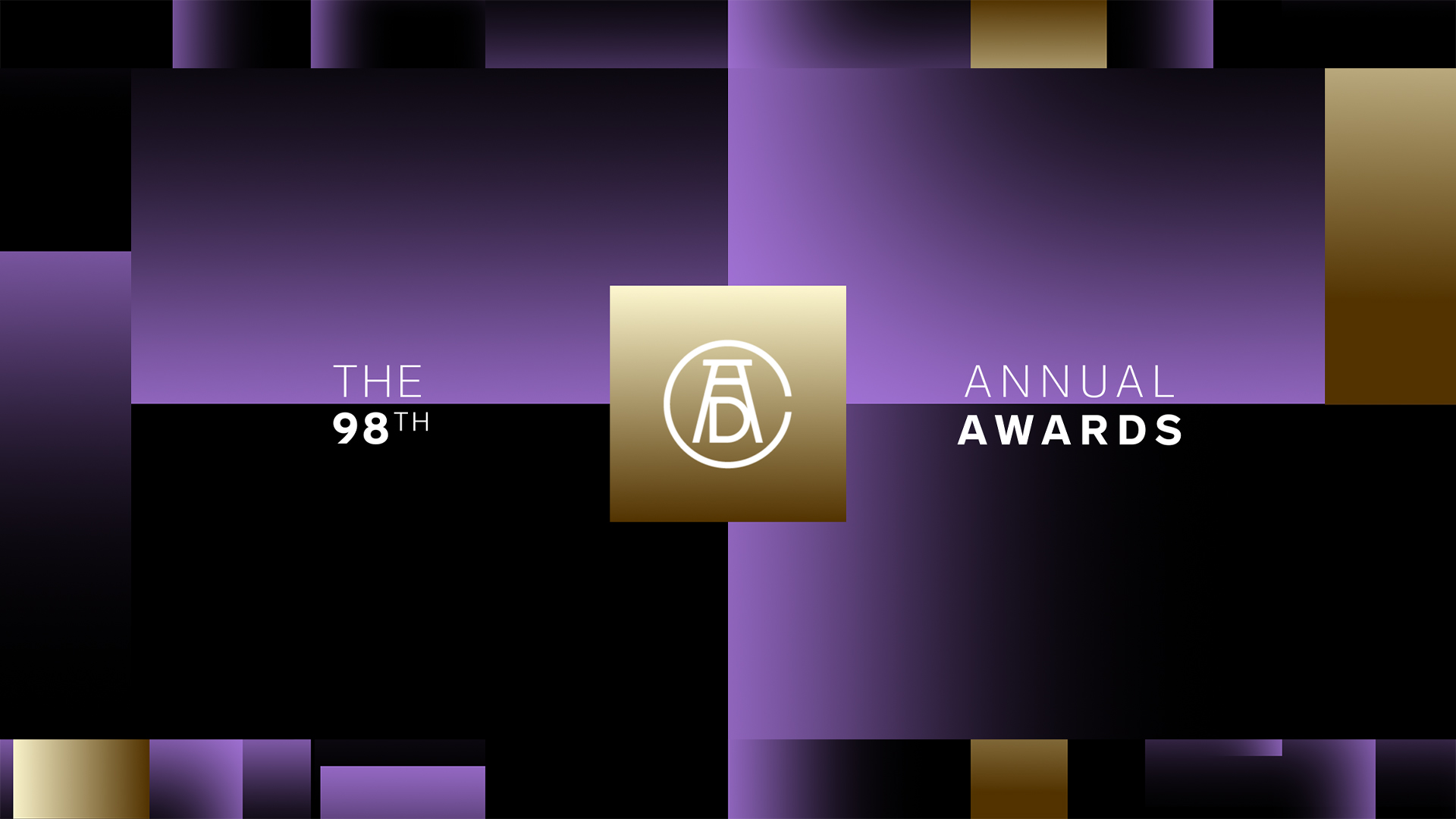 Designing for the ADC 98th Annual Awards Show