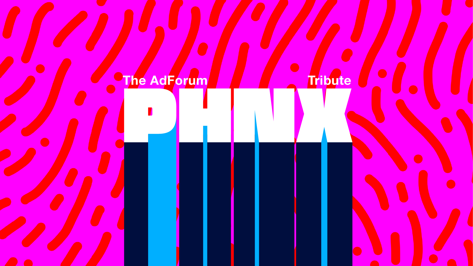 Identity for PHNX Awards The AdForum Tribute