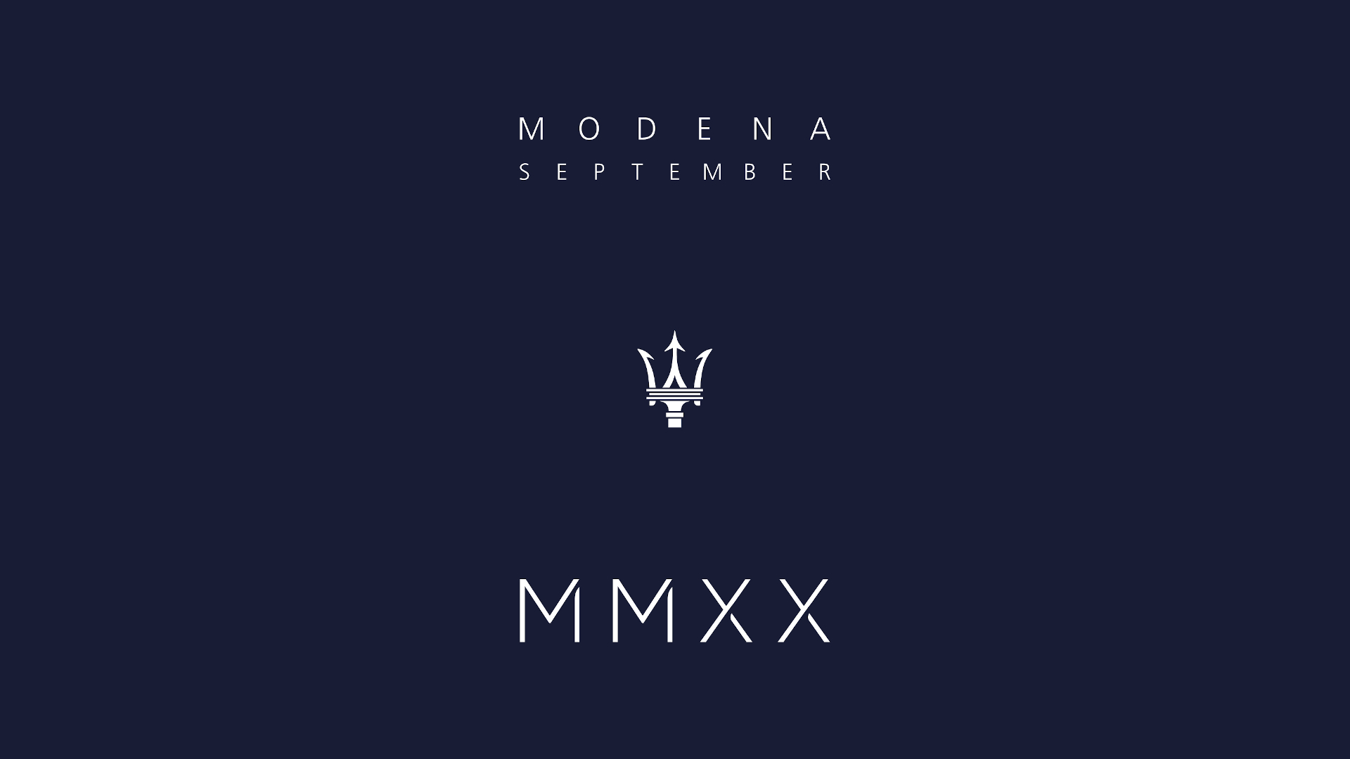 Maserati MMXX – concept and identity for the start of a new era.